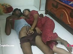real erotic sex with married telugu couple latest porn film
